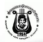 muzicka skola vuk karadzic loznica logo