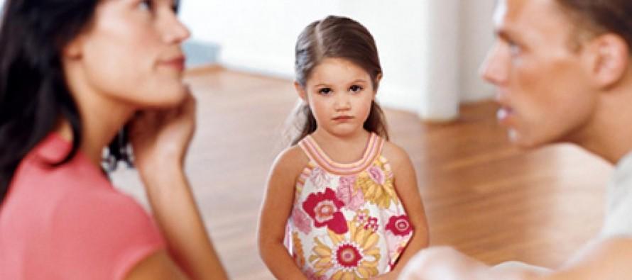 Uticaj svađe među roditeljima na decu