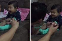 Smeh ove bebe je neodoljiv
