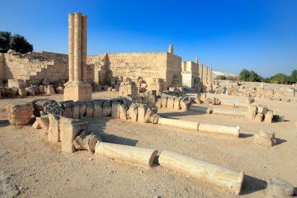 Umayyad palace Khirbat al-mafjar (750s), Jericho, Israel