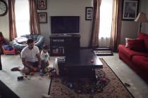 Sam u kući – sa tatom: Kako izgleda popodne sa tatom?