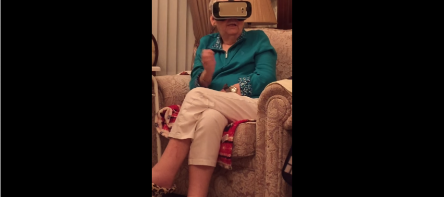 Baka u virtuelnoj stvarnosti!