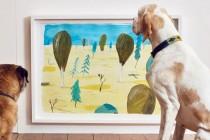London: Umetnost samo za pse