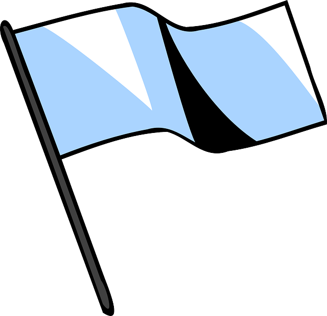 bela zastava