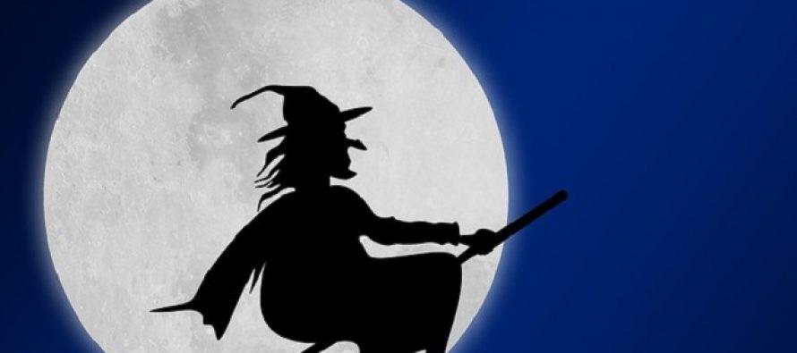 Veštica Befana u ulozi Deda Mraza u Italiji