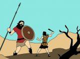 Ko su bili David i Golijat?
