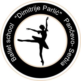 baletska skola dimitrije parlic pancevo logo