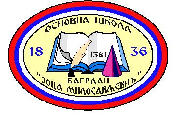 osnovna skola joca milosavljevic bagrdan logo