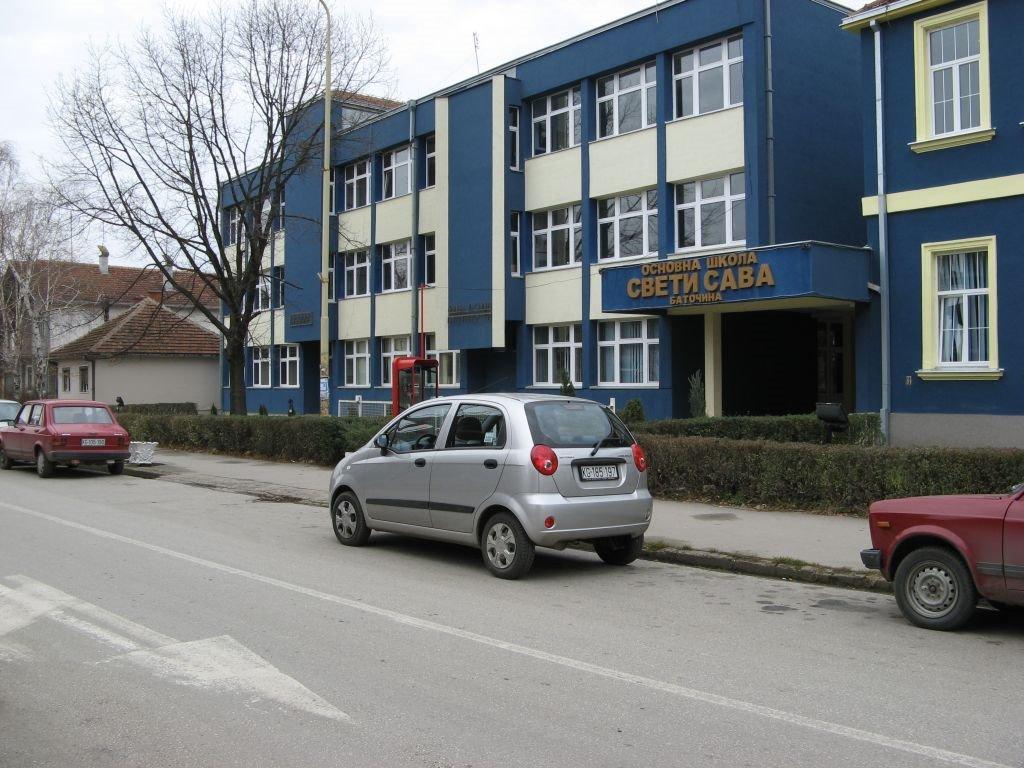 osnovna skola sveti sava batocina slika skole