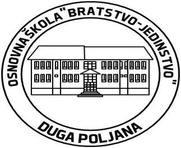osnovna skola bratstvo jedinstvo duga poljana logo