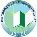 osnovna skola miodrag milovanovic lune karan logo