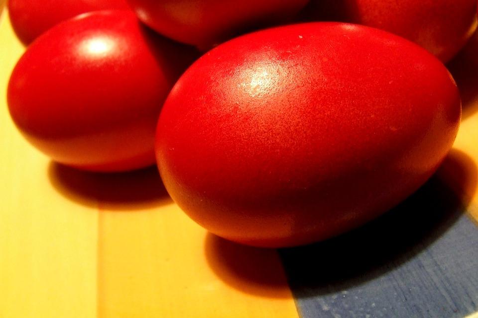 crvena jaja