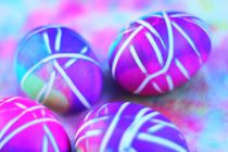 Uskršnja jaja – na prugice!