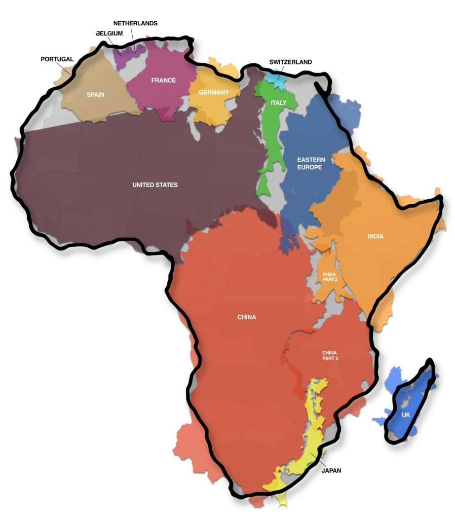 afrika teritorija