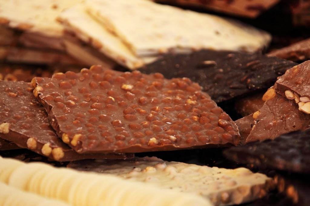vrste cokolada