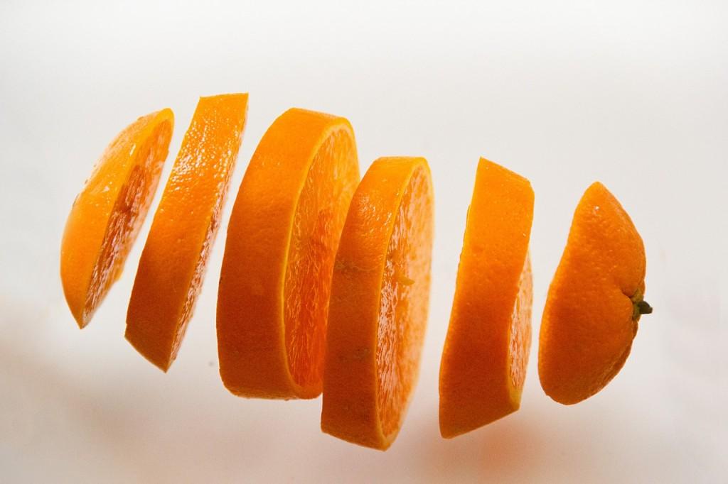 Narandža pomaže u usporavanju lučenja znoja