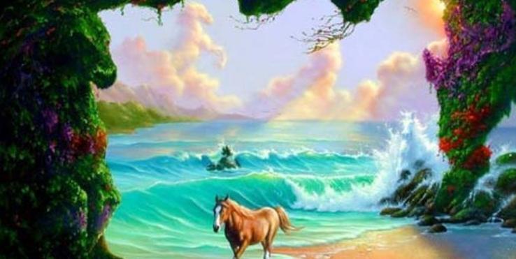 Samo 2% ljudi može da pronađe drugog konja na slici