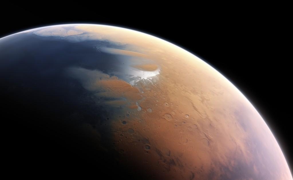 Izgled Marsa pre 4 milijarde godina
