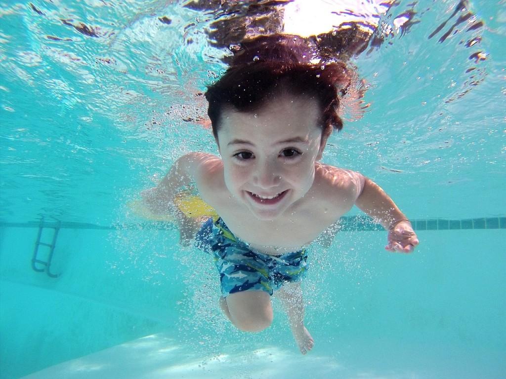 plivanje dete bazen