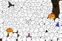 Strašna skrivalica: Pronađite medu među duhovima!