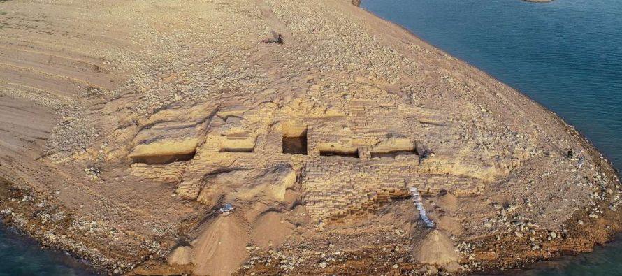 Suša otkrila prastaru palatu misterioznog carstva