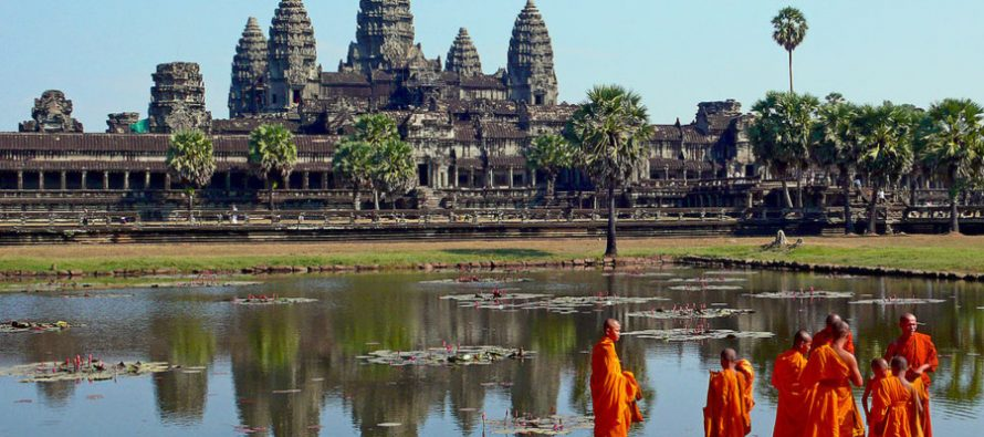 Otkriven drevni grad u Kambodži