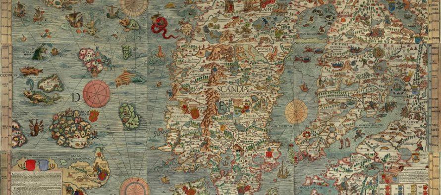 Prva karta morskih čudovišta!